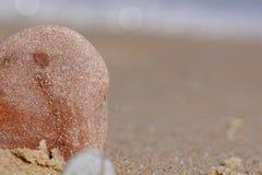 Piccole pietre sulla spiaggia Fotografie Stock Libere da Diritti