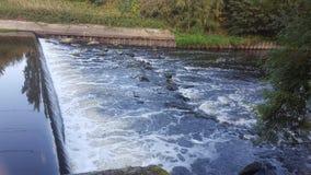 Piccole rapide del fiume Aire fotografia stock