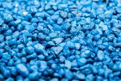 Piccole rocce blu Fotografia Stock Libera da Diritti