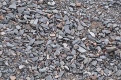 Piccole rocce di tiraggio vago Fotografia Stock