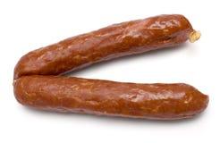 Piccole salsiccie Fotografia Stock