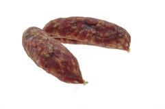 Piccole salsiccie del verro Fotografie Stock Libere da Diritti