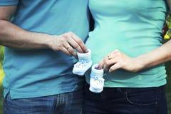 Piccole scarpe Fotografia Stock