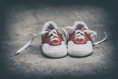 Piccole scarpe Fotografie Stock