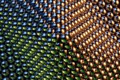 Piccole sfere magnetiche Fotografia Stock