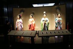 Piccole statue cinesi Fotografie Stock