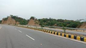 Piccole strade principali indiane di Citi Immagine Stock Libera da Diritti