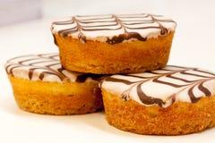 Piccole torte Fotografie Stock