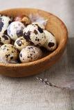 Piccole uova di quaglia Fotografia Stock Libera da Diritti
