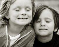 Piccoli amici fotografia stock