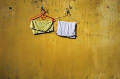 Piccoli asciugamani Fotografia Stock