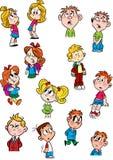 Piccoli bambini Immagine Stock
