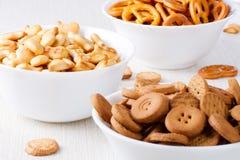 Piccoli biscotti Fotografie Stock