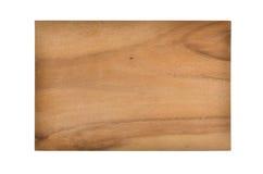 Piccoli bordi della prima colazione da legno Fotografia Stock Libera da Diritti