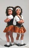 Piccoli danzatori irlandesi fotografia stock