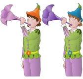 Piccoli elfi Immagini Stock