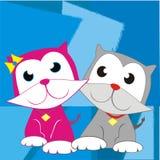 Piccoli gatti Immagini Stock