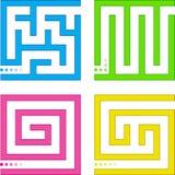 Piccoli labirinti Fotografia Stock Libera da Diritti