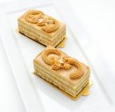 Piccoli pan di Spagna Fotografie Stock