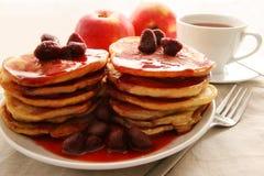 Piccoli pancake. Fotografia Stock Libera da Diritti