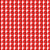 Piccoli papaveri del modello astratto senza cuciture del fondo Immagini Stock Libere da Diritti