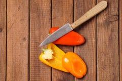 Piccoli peperoni dolci Fotografia Stock Libera da Diritti
