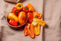 Piccoli peperoni dolci Immagini Stock