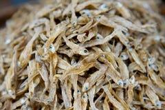 Piccoli pesci secchi Fotografie Stock