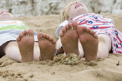 Piccoli piedi Fotografia Stock Libera da Diritti