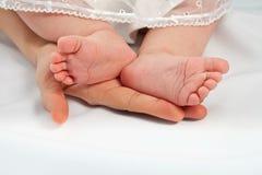 Piccoli piedini Charming Fotografie Stock