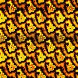 Piccoli poligoni colorati su un modello senza cuciture del bello fondo Immagine Stock