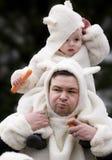 Piccoli sheeps Fotografia Stock Libera da Diritti