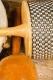 Piccoli strumenti di percussione Immagine Stock