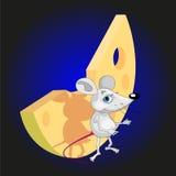 Topo e formaggio royalty illustrazione gratis