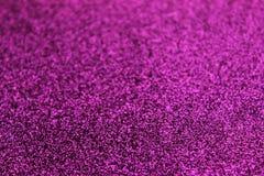 Piccoli zecchini rosa nei precedenti Scintillio come fondo della festa Priorità bassa di natale immagini stock