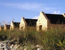Piccolo â Bonaire delle case fotografia stock