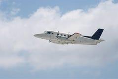 Piccolo aeroplano regionale dell'elica fotografia stock libera da diritti