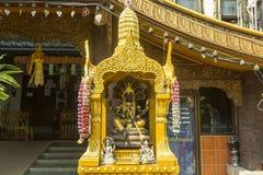 Piccolo altare buddista Immagini Stock