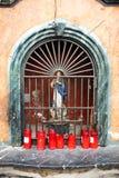 Piccolo altare di vergine Maria a Cordova, Spagna Fotografia Stock Libera da Diritti