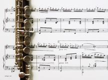 Free Piccolo And Sheet Music Stock Image - 199771