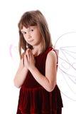 Piccolo angelo sveglio Fotografie Stock Libere da Diritti