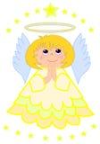 Piccolo angelo sveglio Immagini Stock Libere da Diritti