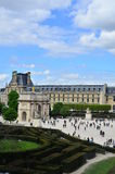 Piccolo arco di Musée du Louvre Fotografia Stock
