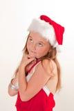 Piccolo assistente della Santa fotografie stock libere da diritti