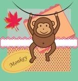 Piccola scimmia Immagini Stock Libere da Diritti