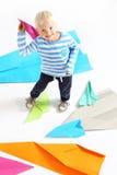 Piccolo aviatore Fotografia Stock Libera da Diritti