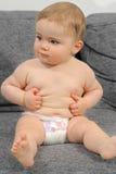 Piccolo bambino bambino Immagine Stock Libera da Diritti