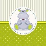 Piccolo bambino dell'ippopotamo Fotografia Stock