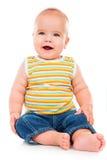Piccolo bambino felice Fotografia Stock Libera da Diritti