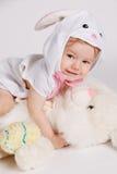 Piccolo bambino felice in costume Immagini Stock Libere da Diritti